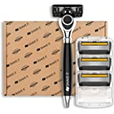 Shave It Grand 6-Blade Razor with Handle and 4 Blades