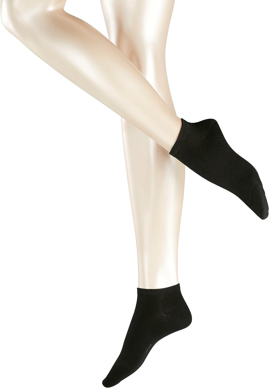 ESPRIT Damen Sneakersocken Uni 2-Pack 2 Paar 80/% Baumwolle