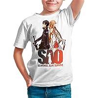 Camiseta Serie Manga y Anime Niño - Unisex Sword Art Online, Sao