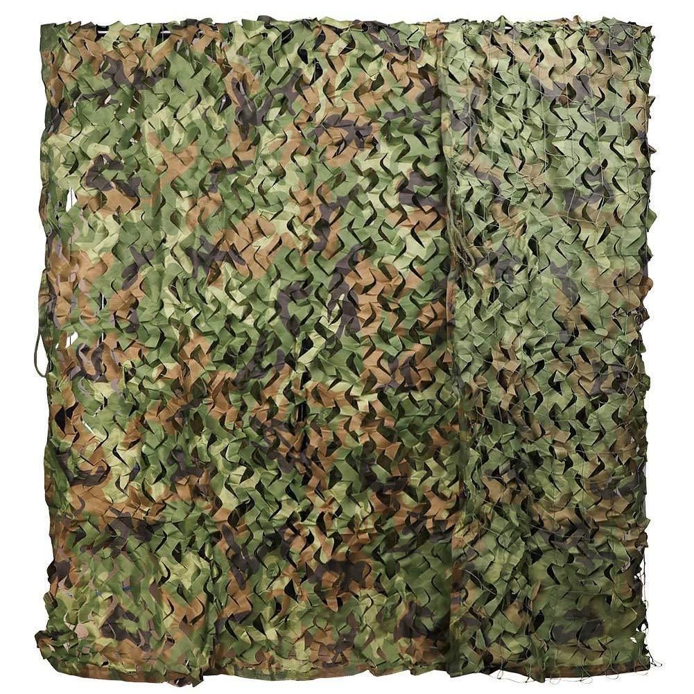 vert 9x1m ZHANWEI Filet D'ombrage De Plein Air Défense Aérienne Camouflage Filets Prougeection Solaire Tissu Oxford Filet De RevêteHommest Mural, Taille Personnalisable (Couleur   vert, Taille   4x5m)