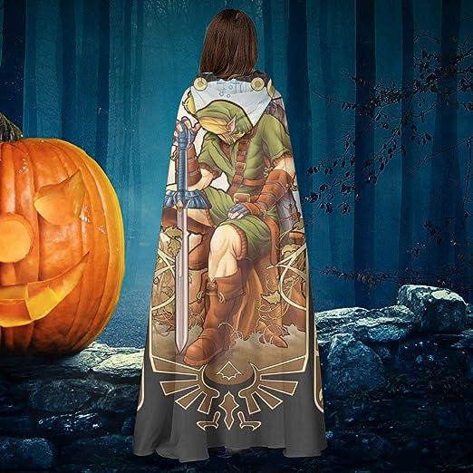 AISFGBJ Zelda Link Hylian Spirit Unisex Navidad Halloween Bruja ...