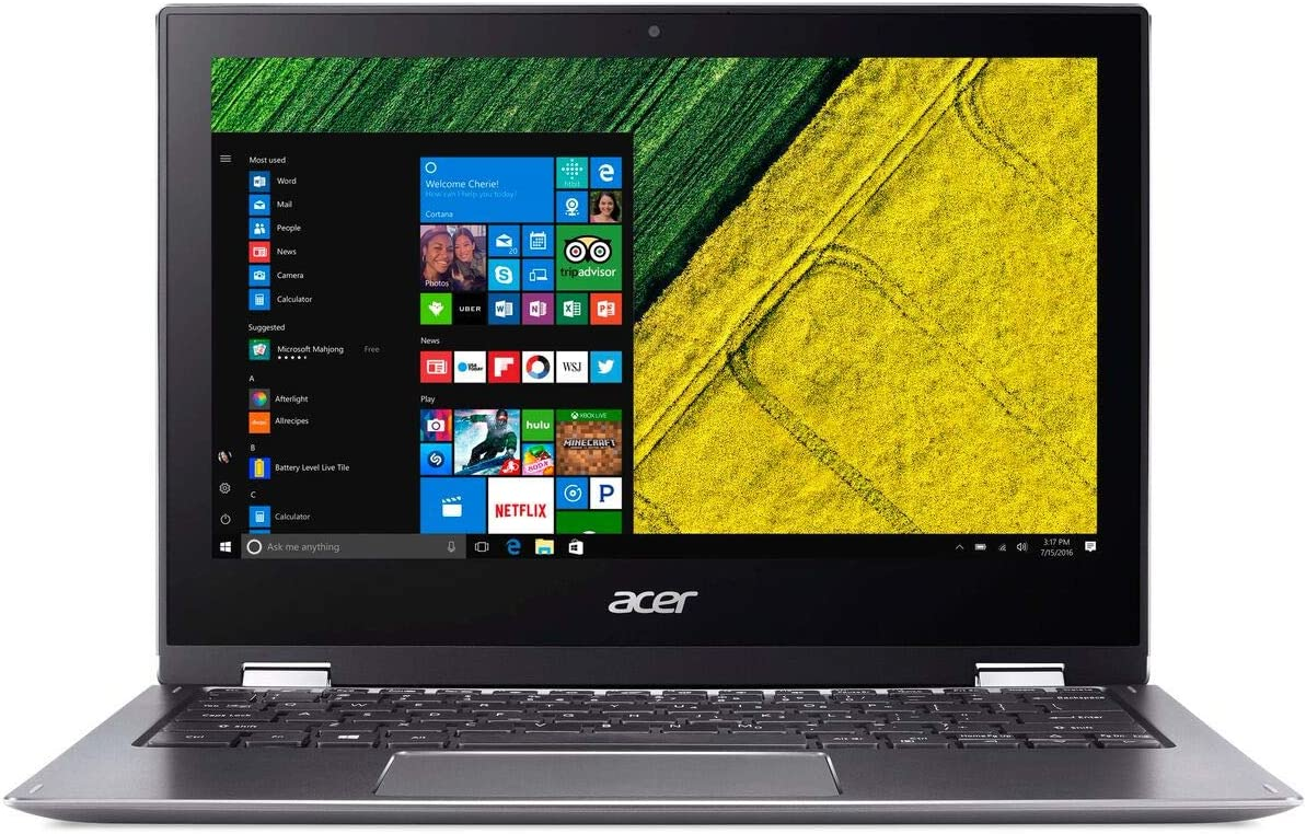 Acer Spin 1 Laptop 11.6inch Intel Pentium- 1.1GHz 4GB Ram 64GB Flash Windows 10 S (Renewed)