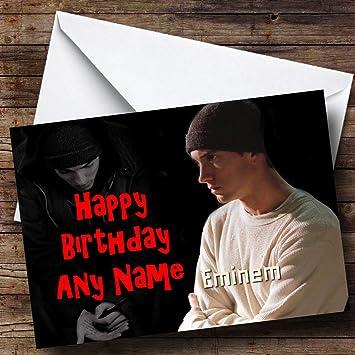 Eminem Personalised Birthday Card Amazon Office Products