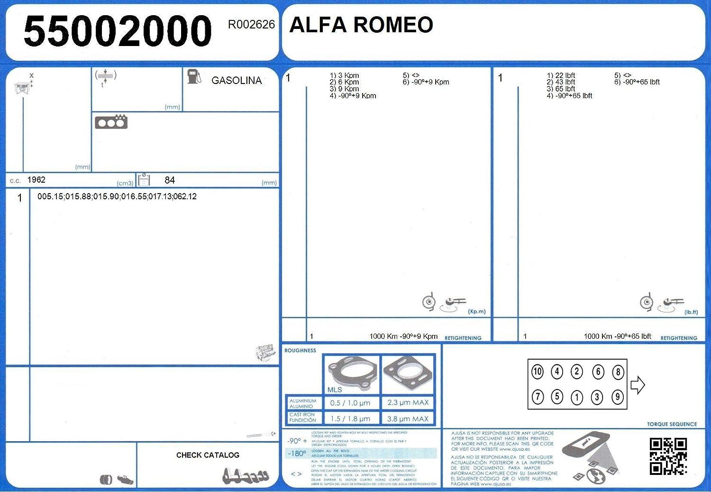 Ajusa 50042500 Full Gasket Set engine