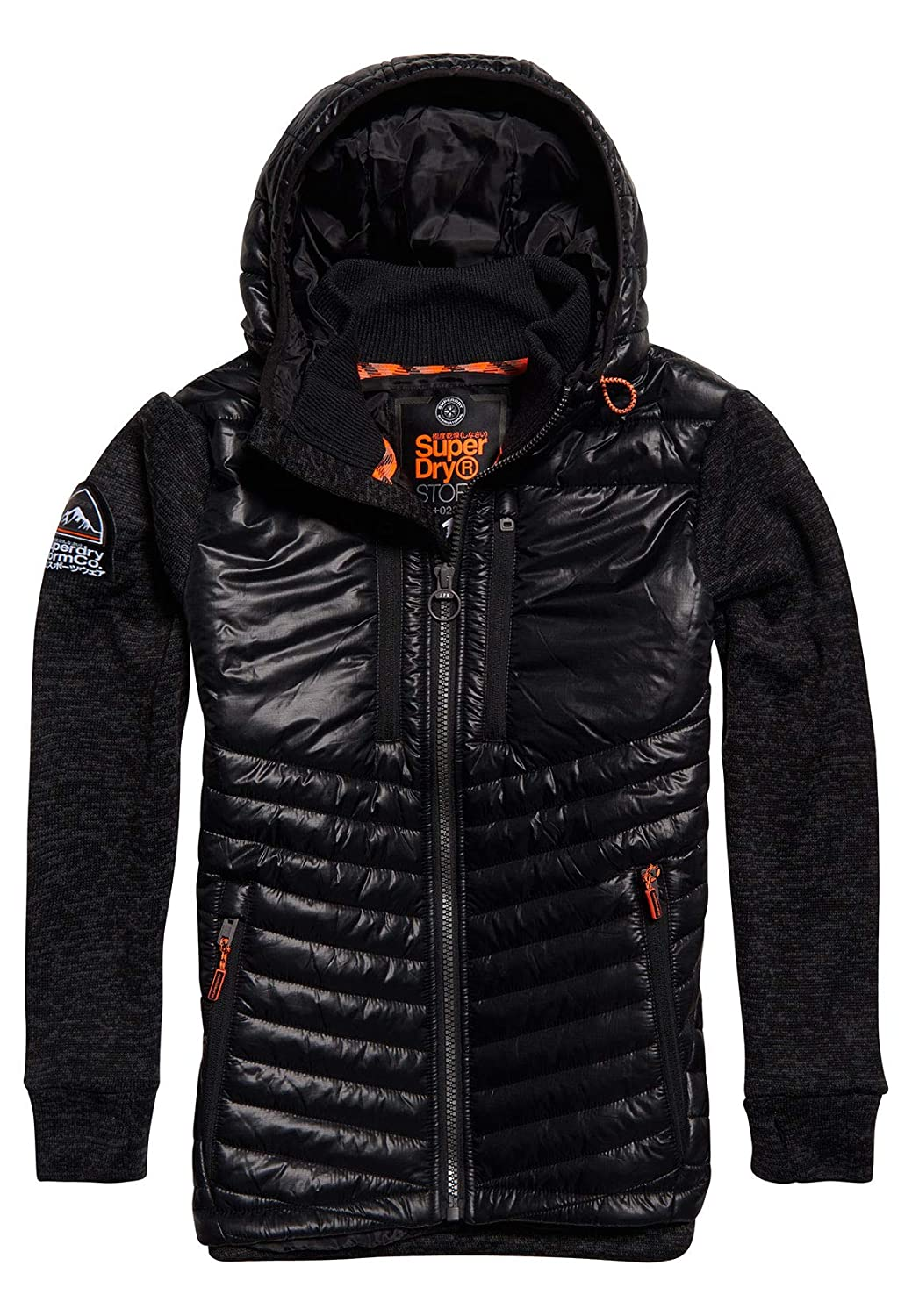 Superdry Men's Storm Hybrid Jacket, Black