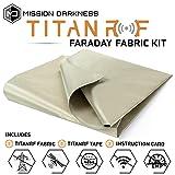 TitanRF Faraday Fabric // EMI & RFID
