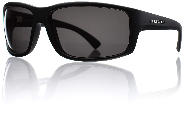 Bucci Sunglasses Torch Black Matte Polycarbonate Polarized