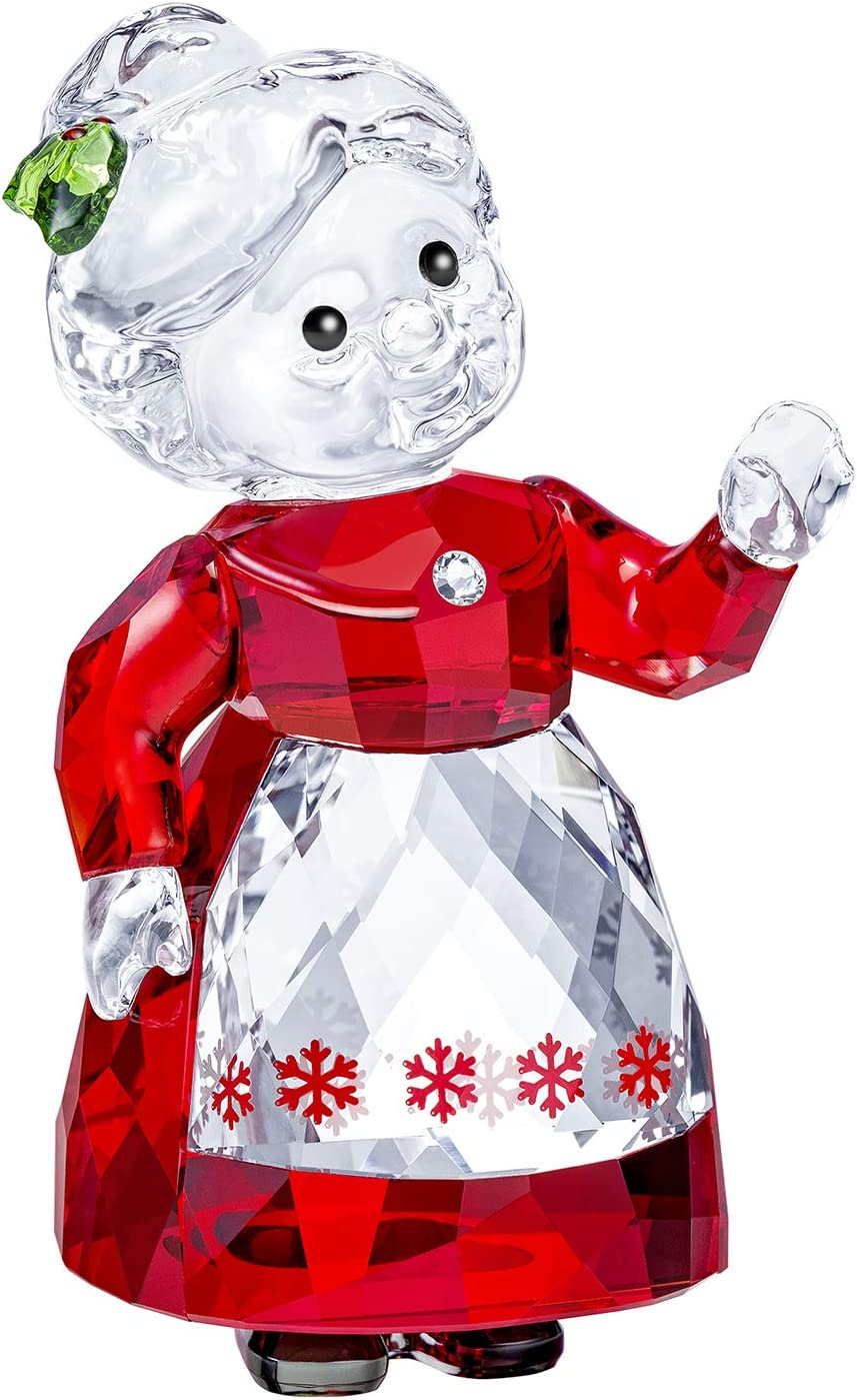 Swarovski Authentic Merry and Festive Joyful Figurines Mrs. Claus