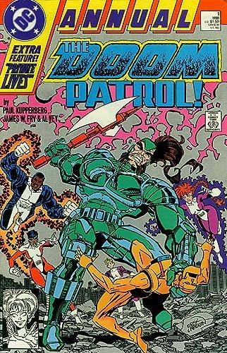 The Doom Patrol Annual No.1 1988 Paul Kupperberg /& James Fry