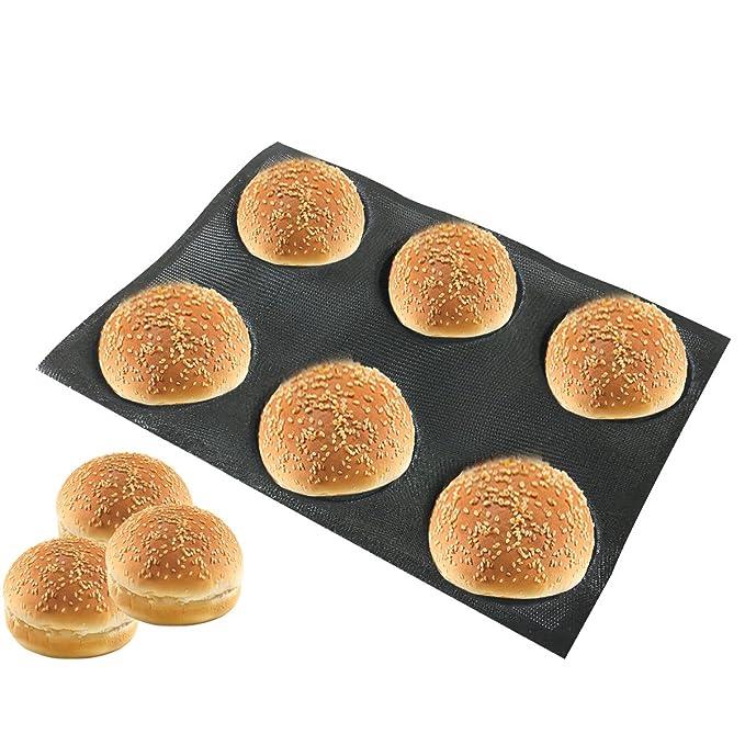 Amazon.com: Bluedrop moldes de silicona para hamburguesas ...