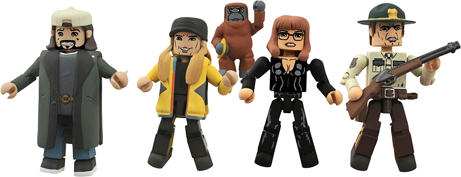 View Askew Minimates Jay /& Silent Bob Strike Back Series 2 Marshal Willenholly