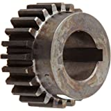 Martin Spur Gear, 14.5° Pressure Angle, High Carbon Steel, Inch, 12 Pitch