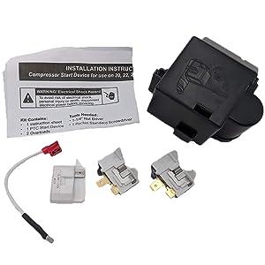 Supplying Demand 8201799 Compressor Relay Overload Kit 2188393 2188504 22004413