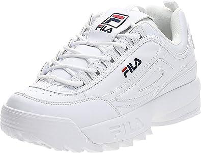 fila low white