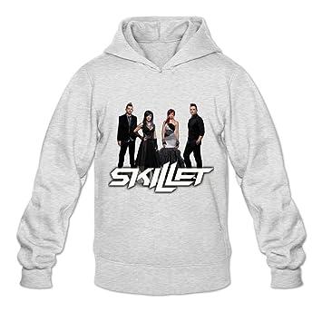 Amazon.com: Men's Skillet Cool Hoodies Sweatshirt Size US White ...
