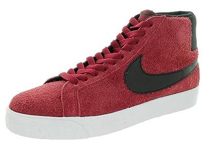 Nike Blazer SB Premium Se, Chaussures de Skate Homme, RougeNoir