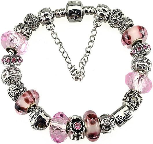 White Birch Charm Bracelets for Women - Fit Pandora Bracelet 7.1 inch DIY  Jewelry