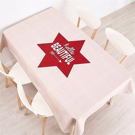 100 * 140 cm rosa rojo hexagonal Nordic estilo ins minimalista ...