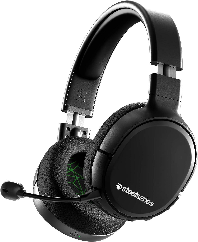 SteelSeries Arctis 1 Auriculares inalámbricos para Juegos USB-C Inalámbrico Wireless para Xbox/PC/Nintendo Switch/Android, Negro: Amazon.es: Videojuegos