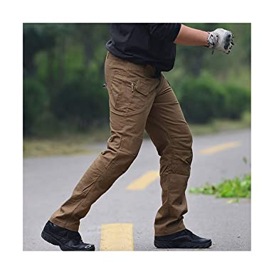 bdfcf3598 Amazon.com: Men WOODIN-Cargo Slim Fat Cargo Pant New Tactical ...