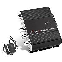 GHB Amplificador Audio Coche Mini Amplificador Estéreo
