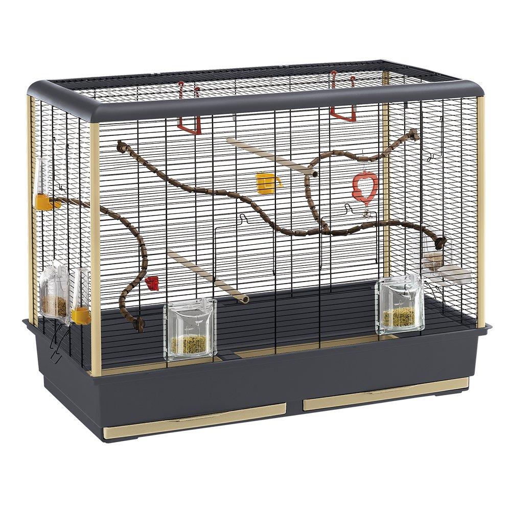 Ferplast Cage à oiseau complètement équipée Piano 6 env. 87 x 46, 5 x 70 cm 52064811W1