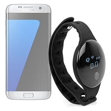 DURAGADGET Montre connectée Bluetooth podomètre/calories/distance pour activités sportives/Plein Air/