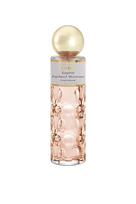 PARFUMS SAPHIR Perfect Woman - Eau de Parfum con Vaporizador para Mujer - 200 ml