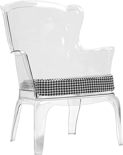 Baxton Studio Tasha Polycarbonate Modern Accent Chair