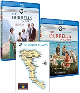 Masterpiece: The Durrells in Corfu – Complete Seasons 1 & 2 Set with Bonus Postcard