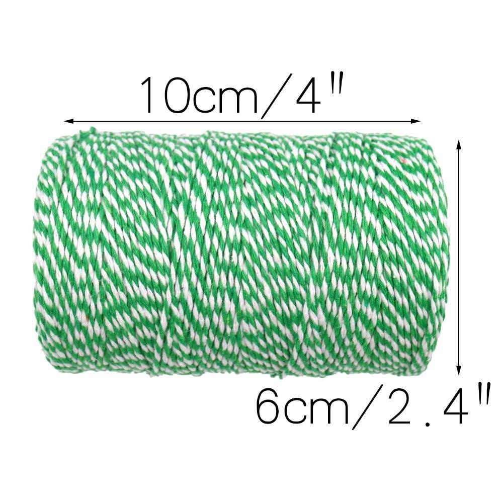 200/m Fil de coton durable Corde Id/éal pour la cuisson DIY travaux manuels et darts faite /à la main Noir Boucher Craft Boulanger