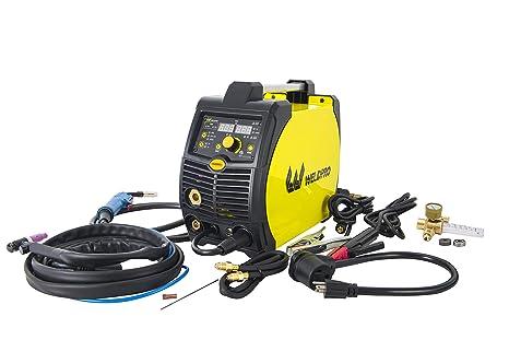 Weldpro 200 Amp Inverter Multi Process Welder with Dual Voltage 220V/110V  Mig/Tig/Arc Stick 3 1 welder/welding machine