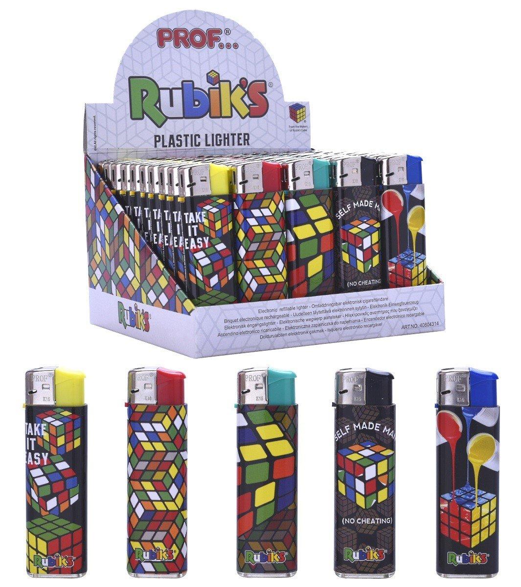 5 encendedor de Rubiks Cube recargable 8 x 2 cm: Amazon.es ...