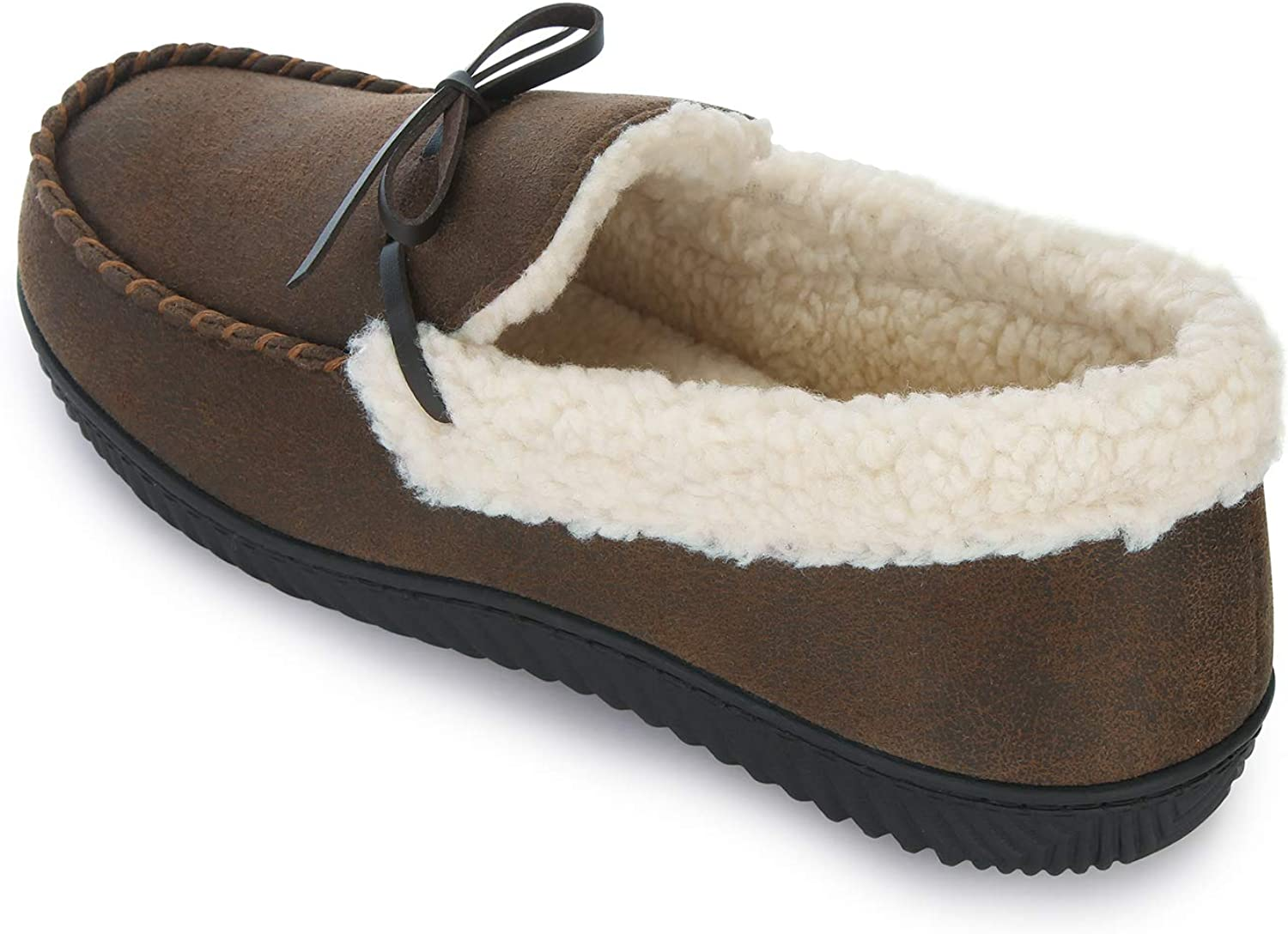 RockDove Mens Two-Tone Moccasin with Memory Foam