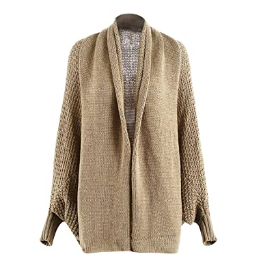 PjBWoEMP Womens Tassel Pullover Knit Casual Long Sleeve Sweater
