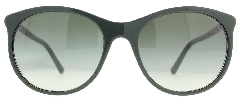 f6845cbea632 Burberry Women s 4145 Dark Green Frame Green Gradient Lens Plastic  Sunglasses  Amazon.co.uk  Clothing