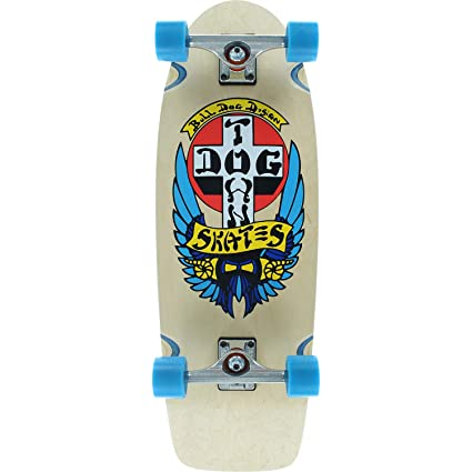 6fa83f0e02 Amazon.com : Dogtown Skateboards OG Bulldog Natural Complete ...
