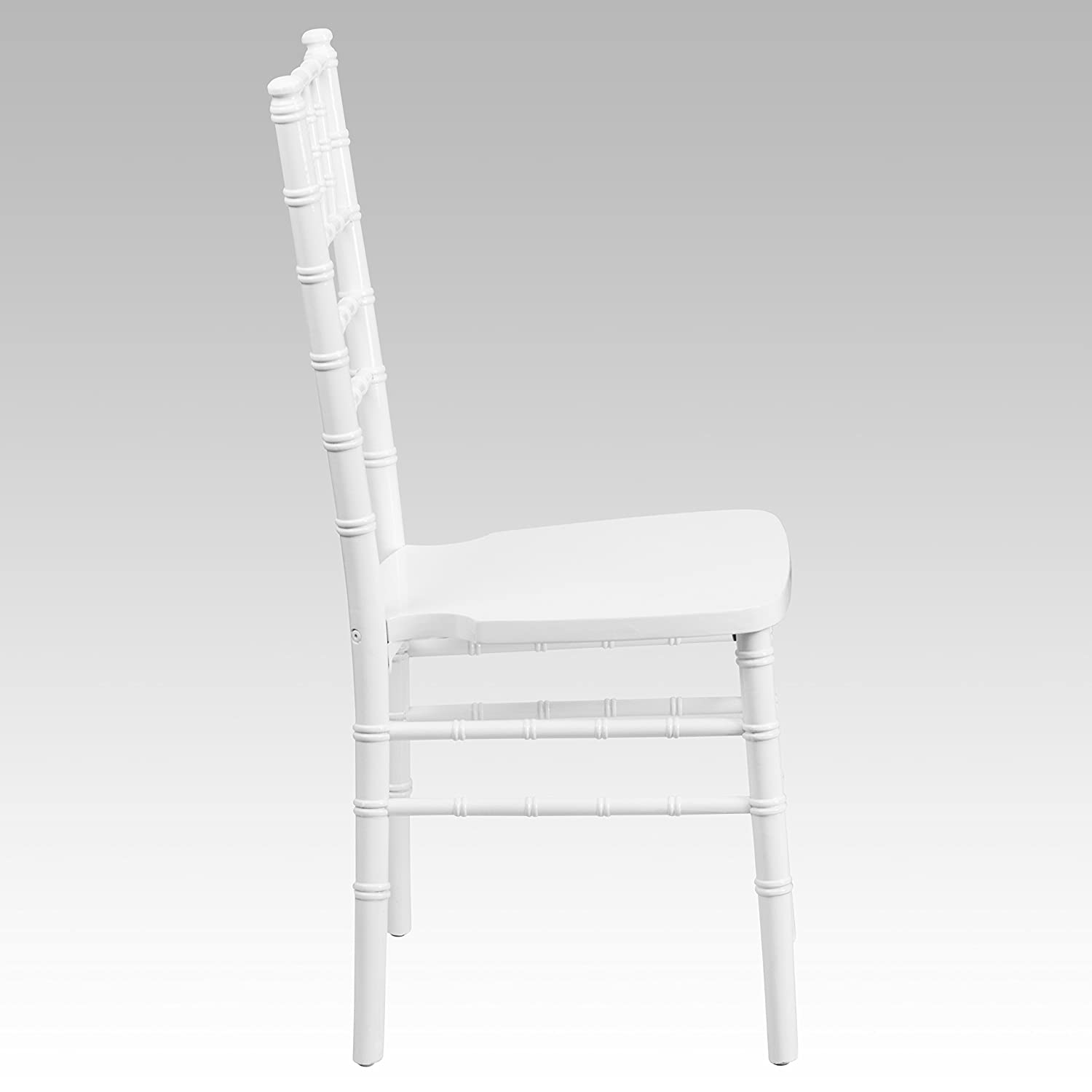 Flash Furniture Flash Elegance Black Wood Chiavari Chair