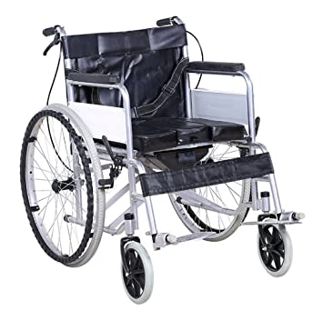 Silla de ruedas Plegable, Scooter para Ancianos, Trolley para discapacitados, (Color : A): Amazon.es: Deportes y aire libre