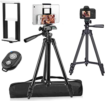 Silver Adjustable Stand Holder for Telescope /& Cameras Lizipai Portable /& Flexible Adjustable Camera Tripod