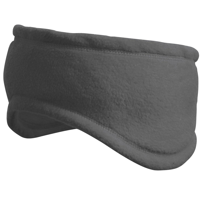 Result Unisex Winter Fleece-Stirnband (L) (Grau) UTRW3248_4