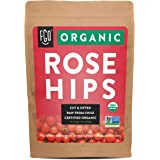 Organic Rosehips | Cut & Sifted | Raw from Chile | 16oz/453g Resealable Kraft Bag | by FGO