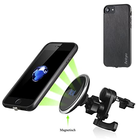jinqiu magnetisch Wireless Auto Cargador para iPhone 7, Qi ...