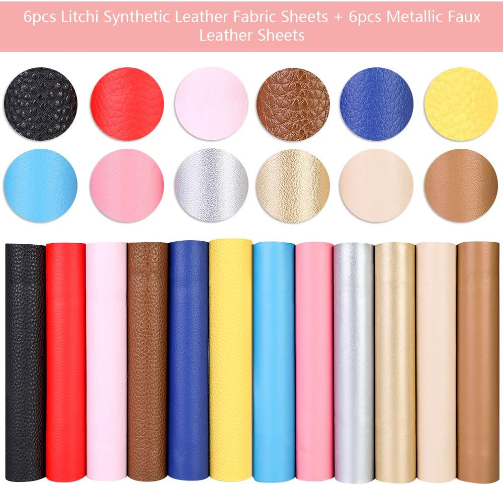 6.3  x 8.3 8 Styles of Faux Leather Sheets Earring Cut Molds Display Cards and Leather Craft Making Tools for Jewelry Earrings Bows Making DIY Craft 30 Pcs Leather Earring Bow Making Kit