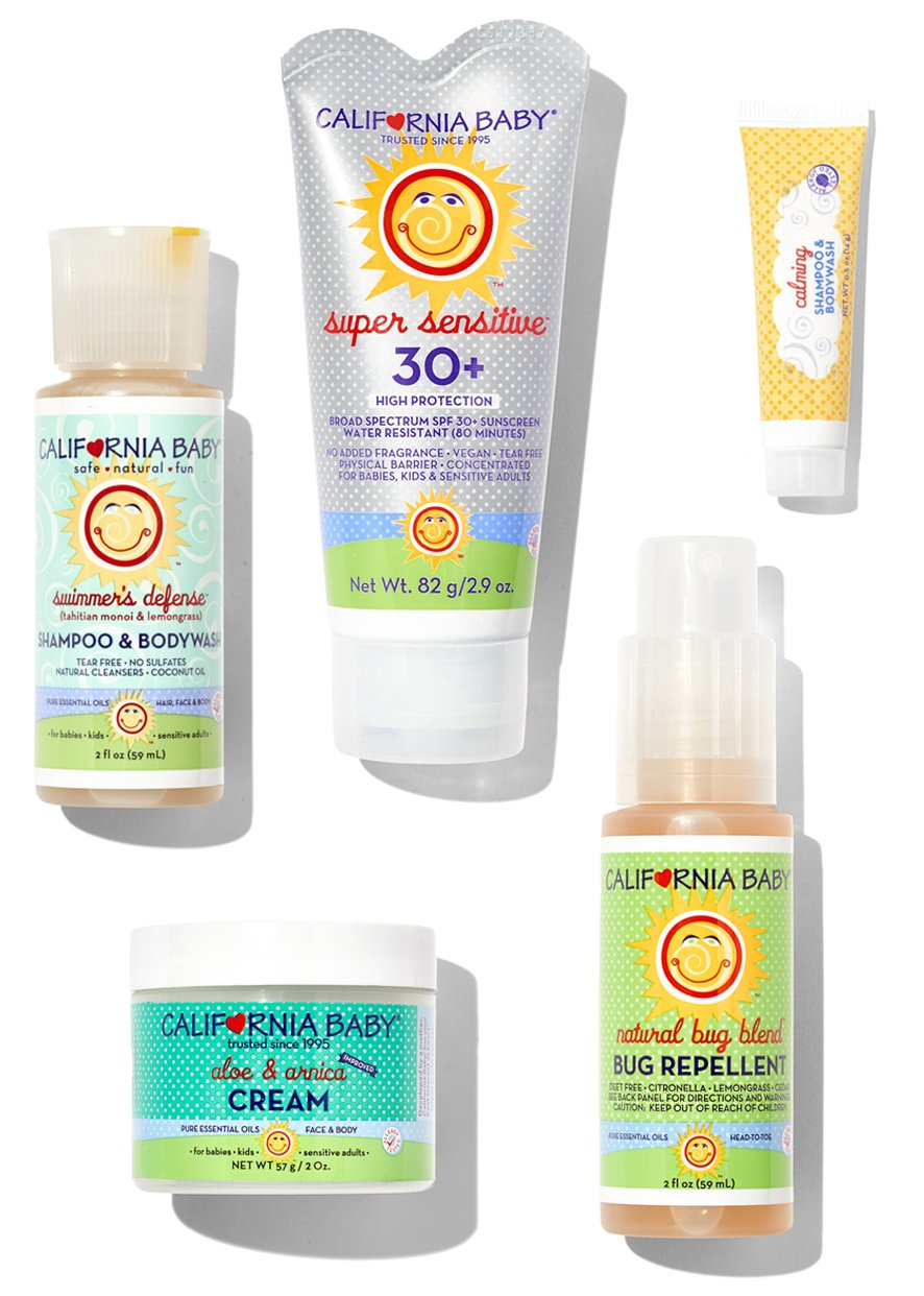 California Baby Summer Essentials Kit by California Baby
