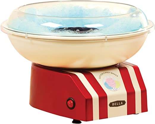 Bella 13572 Máquina para hacer algodón de azúcar, color rojo y ...