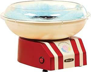 Bella 13572 Máquina para hacer algodón de azúcar, color rojo y blanco: Amazon.es: Hogar