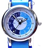Boys/Kids blue Time Tutor/Teacher Watch-QBD
