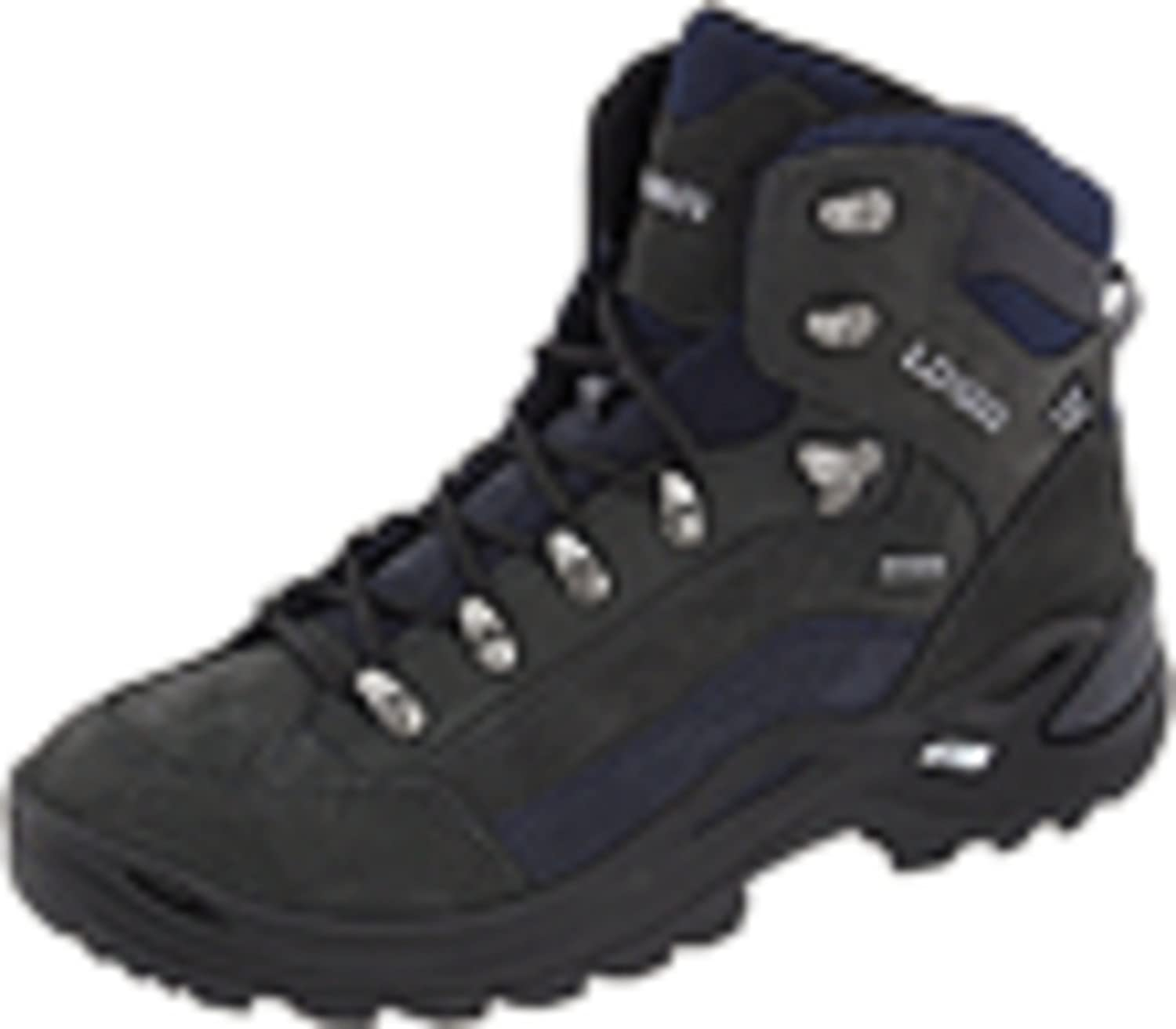 Lowa Women's Renegade GTX Mid Hiking Boot B003GB5RZS 7.5 N US|Dark Grey/Navy