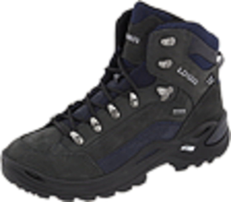 Lowa Women's Renegade GTX Mid Hiking Boot B003GBC5FS 8 N US|Dark Grey/Navy